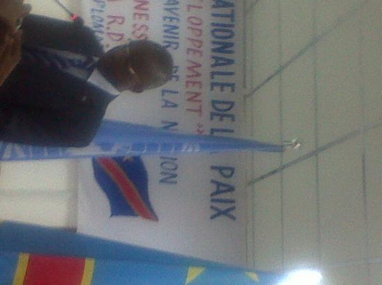 Journée Internationale de la paix : Les jeunes de la RDC reclament leur futur à KINSHASA